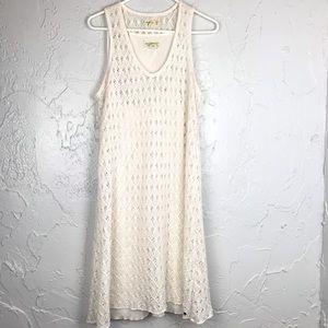 Denim &Supply crochet Lace Sleeveless Dress